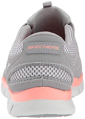 Idea 7ea6wqn0w Gratis Deporte Mujer Gris Zapatillas Big Skechers De Rdxd14