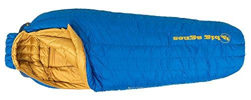 Sleeping Agnes Big Bag Nylon (Big Agnes Fish Hawk 30 Sleeping Bag - Blue Regular Left)