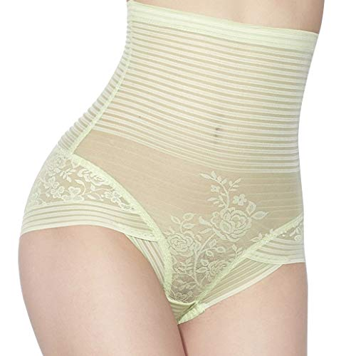 AmyDong Women's Slim Fit Tummy Control Body Shaper Sexy High Waist Corset Shapewear Underwear Pants