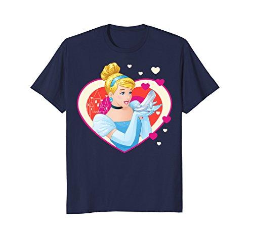 (Disney Cinderella Valentine's Sparkle Hearts Graphic)