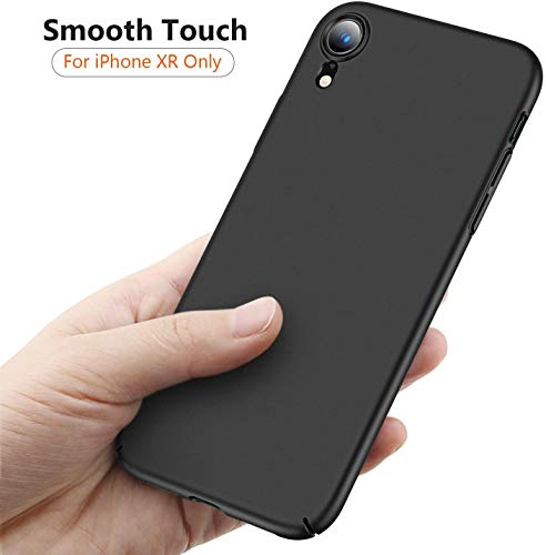 TORRAS Slim Fit Compatible for iPhone XR Case, Ultra-Thin [Sturdy Yet Slim] Hard Plastic Full Protective Cover with…