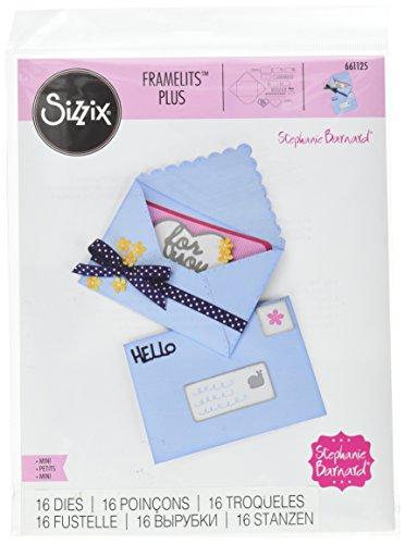 Die Envelope (Sizzix 661125 Framelits Plus Mini by Stephanie Barnard Envelope Die Set (20 Pack))