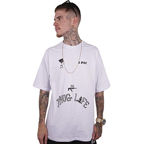 Camiseta Wanted - Pac Branco Cor:Branco;Tamanho:XG