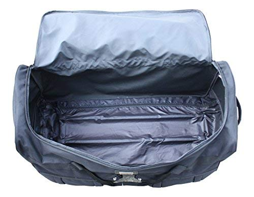Gothamite 42-inch Rolling Duffle Bag with Wheels | Luggage Bag | Hockey Bag | XL Duffle Bag With Rollers | Heavy Duty Oversized 1200D Polyester