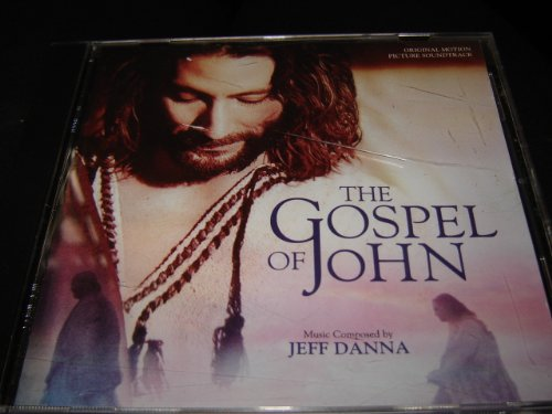 GOSPEL OF JOHN / Jeff Danna / Original Soundtrack / Varese Sarabande / For God So Loved The World / I Am The Bread Of Life / The Road Through Samaria / Mary Washes Jesus' Feet / Here Comes Your King / Pilate's Dilemma / The Lamb Of God / Jesus & Nicodemus / You Will Not Find Me / The Prayer / Solomon's Porch / One Of You Is A Devil / The Betrayal / What Is Truth? / The Ruler Of This World / Jesus At The Temple / Cast Your Nets / Follw Me