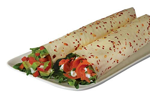 Cheap Norigami Non-GMO Gluten-Free Soy Wraps Chili (6 Wraps), Low Carbs, High Protein, Vegetarian, Ready To Fill And Serve Wraps, Thin And Healthy Wraps (2 Packs)