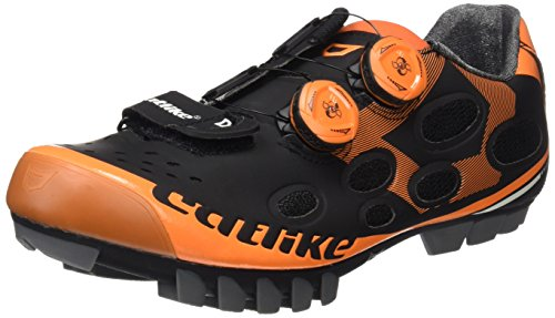 de MTB Ciclismo 45 Whisper 2016 EU Montaña Catlike Black Zapatillas Unisex Negro de Adulto Orange qB51wXXIx