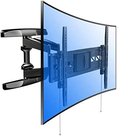 Fleximounts R2 Soporte de Pared, Inclinable y Giratorio para TV UHD HD de Panel Plano y Curvado, Brazo Articulado, cuadra a Curvo TV LED, LCD, Plasma, OLED, 32-70 Pulgadas, Samsung, etc.: Amazon.es:
