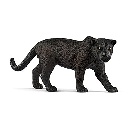 Amazon Com Schleich North America Black Panther Toy Figure