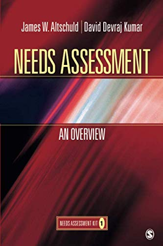 Needs Assessment: An Overview  (Book 1) (NULL)