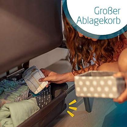 Maxi-Cosi Iora-Beistellbett mit weicher Matratze, Reisebett einfach zusammenfaltbar und höhenverstellbar, geeignet ab der Geburt, 0 Monate - 9 kg, Essential Grey (grau) 5