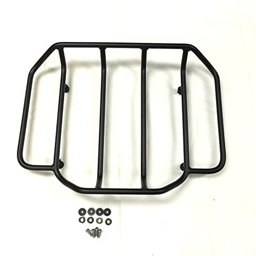 HTT Group Motorcycle Black Luggage Rack Rail Trunk for sale  Delivered anywhere in USA