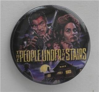 (SDCC 2017 EXCLUSIVE Pinback button THE PEOPLE UNDER THE STAIRS)