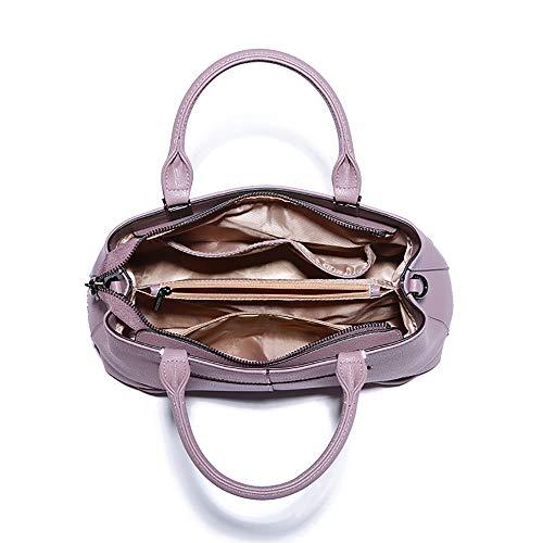 Pour De Travail En Mode Grande Shopping Affaires Cuir Capacité À Main Femme Filles Pink Bandoulière wg Sac Fs Dames gqwZPIYzI