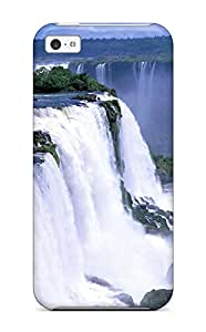 Hot Snap-on Iguazu Waterfalls Hard Cover Case/ Protective Case For Iphone 5c