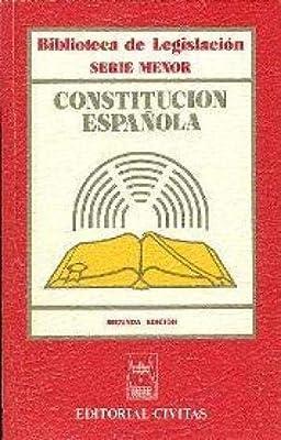 Constitucion española (Educacion Especial): Amazon.es: -: Libros