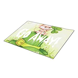 Qking Decorative Door Mats Mouse Personalised Door Mat