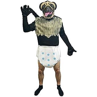 Amazon.com: Puppy Monkey Baby Adult Costume: Clothing