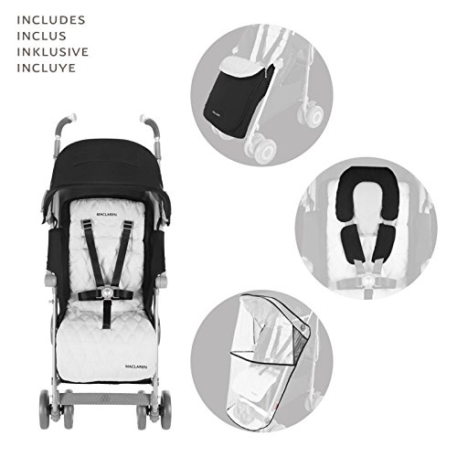 Maclaren Techno XLR Stroller, Black/Silver by Maclaren (Image #4)
