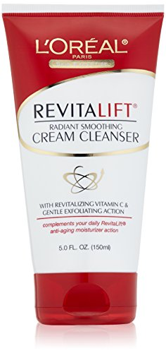 L'Oreal Paris RevitaLift Radiant Smoothing Facial Cream Cleanser 5 Fl. Oz