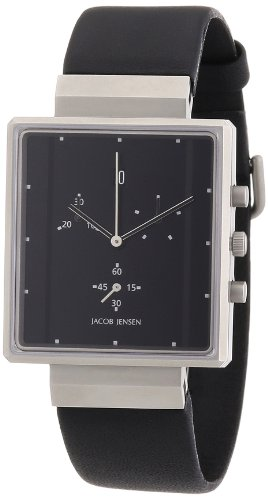 Jacob Jensen Men's Watch Chronograph Rectangular 805