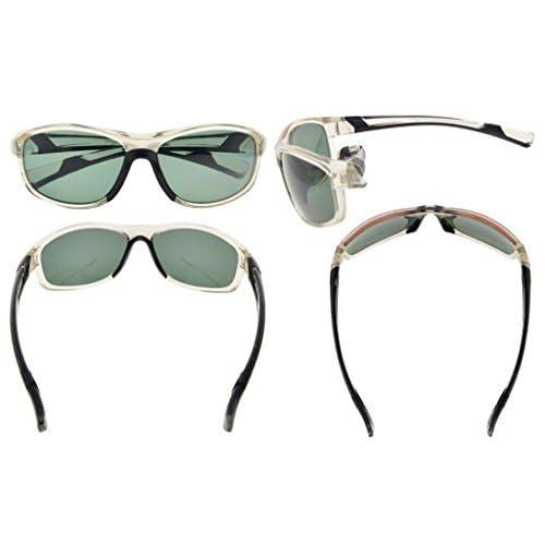 e583acc2b7 30% de descuento Gr8Sight Unisex Sun lectores TR90 y marco de goma  polarizadas gafas de