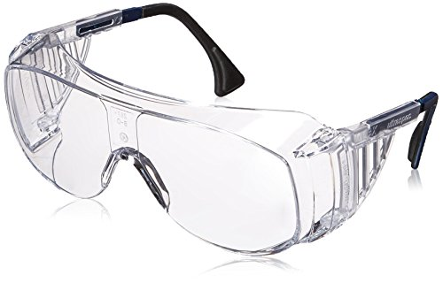 Uvex S0112C Ultra-spec 2001 OTG Safety Eyewear, Clear Frame, Clear UV Extreme Anti-Fog Lens by Uvex