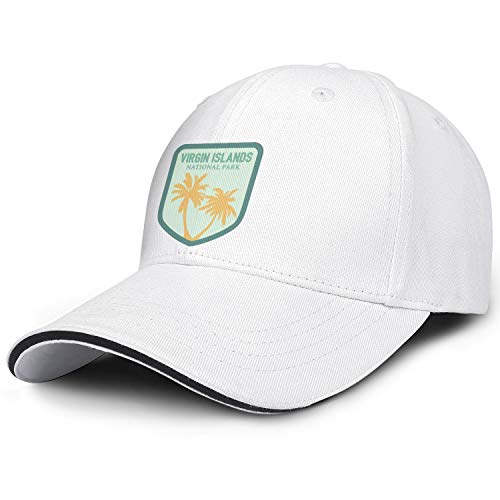 Man Women's Virgin-Islands-National-Park- Cap Cool Outdoor Caps Hats (Best Virgin Hair Distributors)