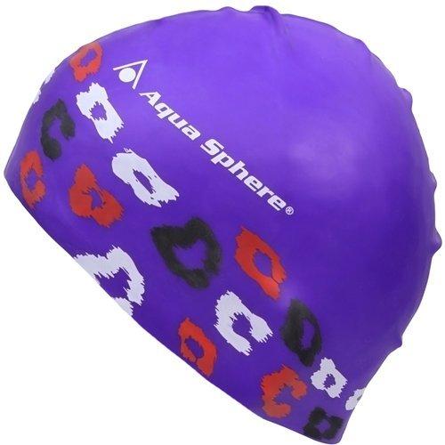 Aqua Sphere Junior Swim Cap, Feline (Jr Silicone Swim Cap)