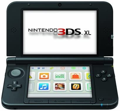 Amazon.com: Nintendo 3DS XL Handheld System - Black/Black ...