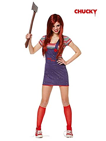 Costumes Chucky Fille Halloween - Sexy Chucky Costume - X-Small - Dress