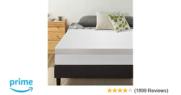 4 inch mattress pad Amazon.com: Best Price Mattress 4 Inch Memory Foam Mattress Topper  4 inch mattress pad