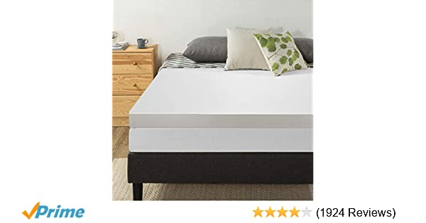 Amazon Com Best Price Mattress 4 Inch Memory Foam Mattress Topper