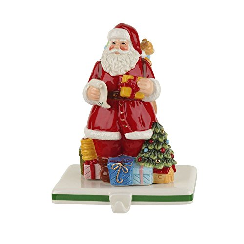 Spode Christmas Tree Santa Stocking Holder