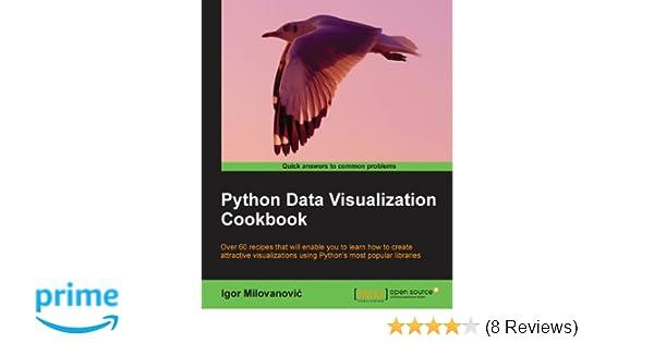 Python Data Visualization Cookbook: Igor Milovanovic: 9781782163367