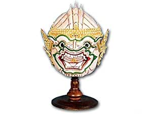 Amazon Com Thai Handmade Khon Mask Hanuman Toys Amp Games