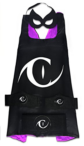 Halloween Costumes For Teenage Girls Cat (MyTinyHeroes Children's Superhero Costume - 5 Pc Set - DC Comics - Catwoman)
