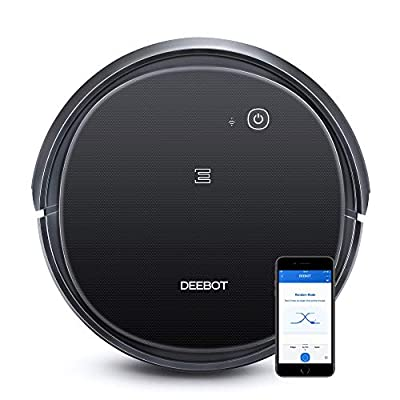 ECOVACS DEEBOT 500 Robotic Vacuum Cleaner with Max Power Suction, Up to 110 min Runtime