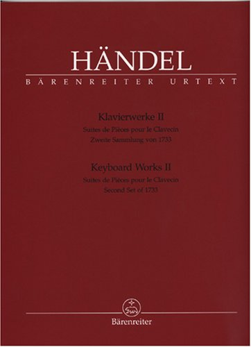 Keyboard Works - Volume 2 (HWV 434-442) (Second set of 1733 suites for harpsichord)