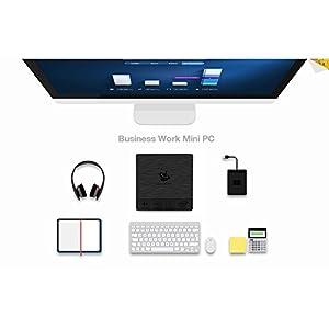 Beelink BT3Pro Multi Media Desktop Full 4K HD H.265 Smart Mini PC Intel Atom x5-Z8350 Processor 4GB+64G / 4K / 1000Mbps LAN/HDMI/VGA / 2.4G+5.8G Dual WiFi