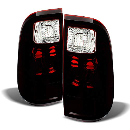 (ACANII - For Dark Tinted 2008-2016 Ford F250 F350 F450 F550 Super Duty Tail Lights Left+Right )
