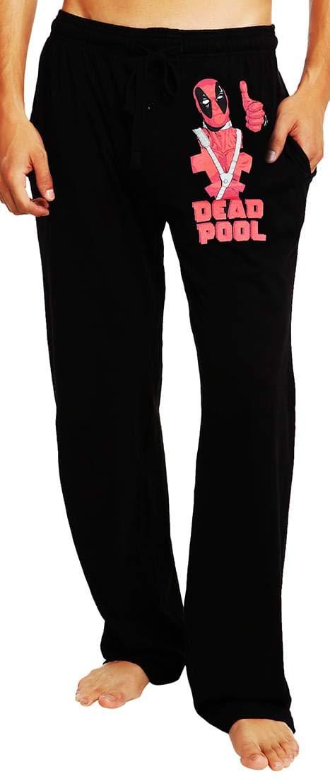 Deadpool Thumbs Up Men's Lounge Lounge Lounge Pants: X-Large de97d8