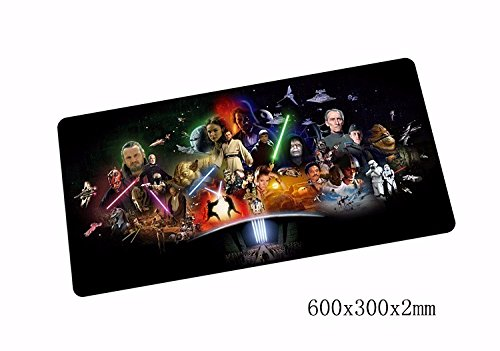 hot new Star mouse pad 600x300mm pad to mouse mat notbook computer mousepad Popular gaming padmouse gamer to laptop mouse mats war