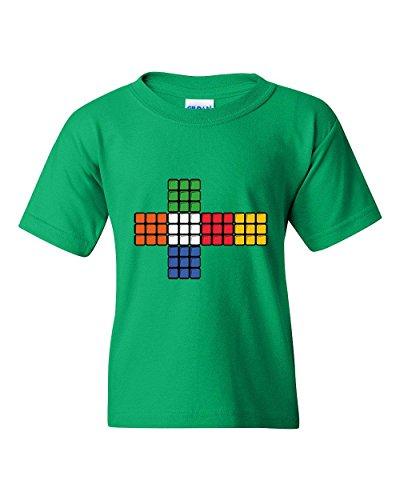 Price comparison product image Novelty T-Shirt Rubik's Cube Cross Unisex Youth Shirts
