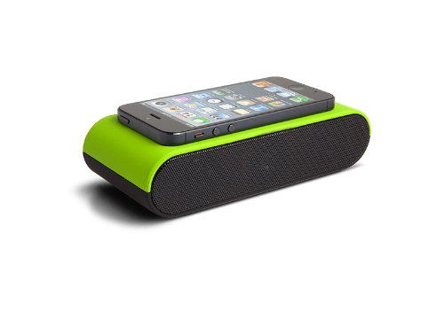 iFrogz IF-BSP-GRN BoostPlus Near Field Audio Speaker for Smartphones and Digital Music Players - Retail Packaging - Green