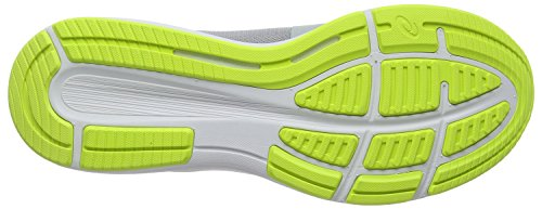 Asics Roadhawk FF, Scarpe Running Uomo Grigio (Mid Grey/White/Safety Yellow 9601)