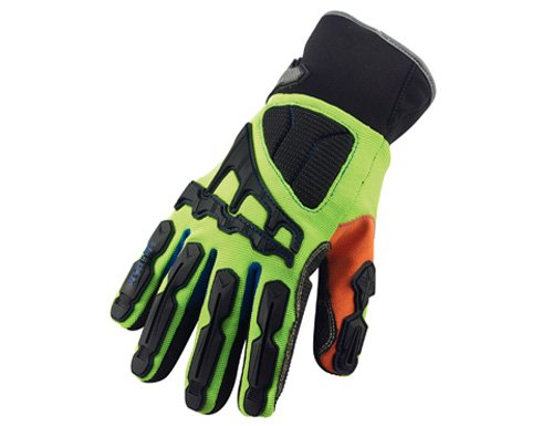 Ergodyne ProFlex 925CPWP Thermal Waterproof Cut, Puncture & Dorsal Impact-Reducing Gloves, Small