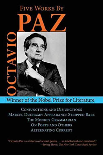 Five Works by Octavio Paz: Conjunctions and Disjunctions for sale  Delivered anywhere in USA