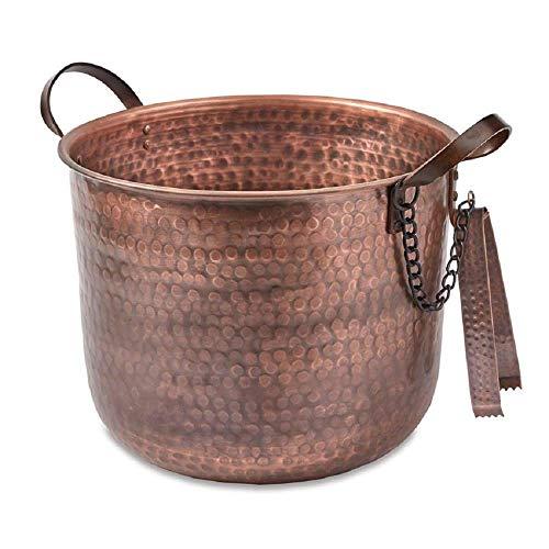 Mud Pie Copper Ice Bucket