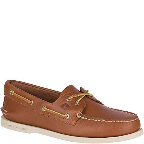 Sperry Top-Sider Men's A/O 2 Eye Boat Shoe,Tan,9 W US